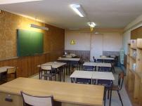 Une des 4 salles de classe