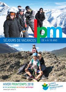 Catalogue LPM Hiver-Printemps 2018 - Séjour Jeunes
