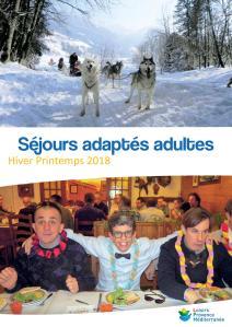 Catalogue LPM Hiver-Printemps 2018 - Séjours Adaptés