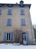 facade centre - neige