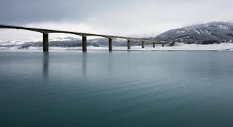 Pont de savines sous la neige - 2