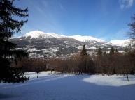 Vue de Mont-Guillaume - Neige